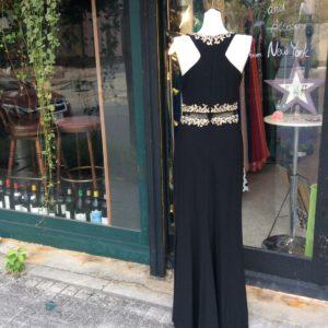 シンプル ブラックドレス パーティードレス お呼ばれドレス 演奏会ドレス 沖縄