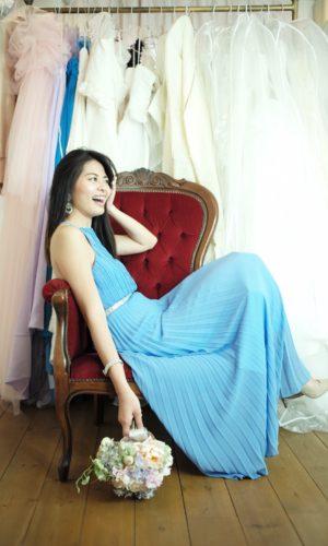 沖縄 パーティードレス ロングドレス ステージドレス お呼ばれ 演奏会ドレス 音楽 パーティー Chandelier Boutique シャンデリアブティック